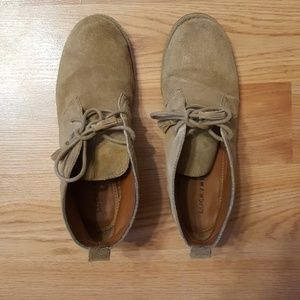 Lucky brand eberline suede chukka ankle boot